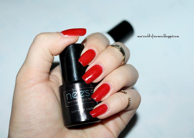 Czerwone szpilki od NEESS