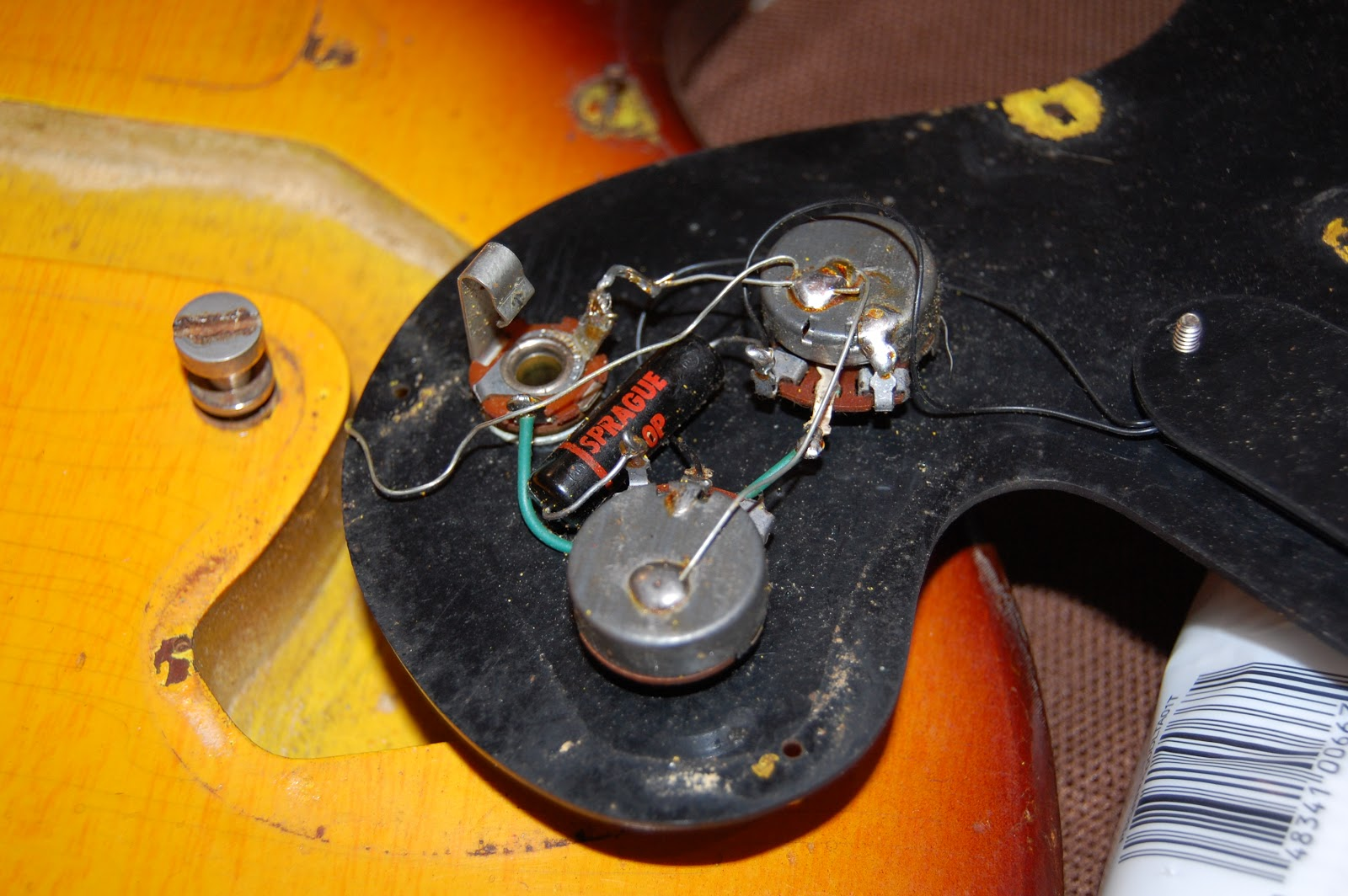 Gibson Melody Maker Wiring Harness Trusted Diagrams 1967 Sg Galasso Guitars The 200k Les Pauls Little Brother 1960