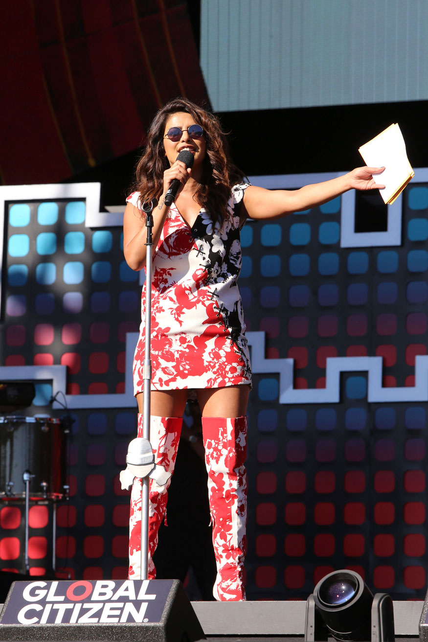 Priyanka Chopra at the Global Citizen Festival In New York