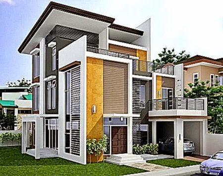 gambar rumah minimalis modern 2 lantai | design rumah