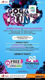 Zumba GoGa and Fun Color Run with Le Minerale • 2019