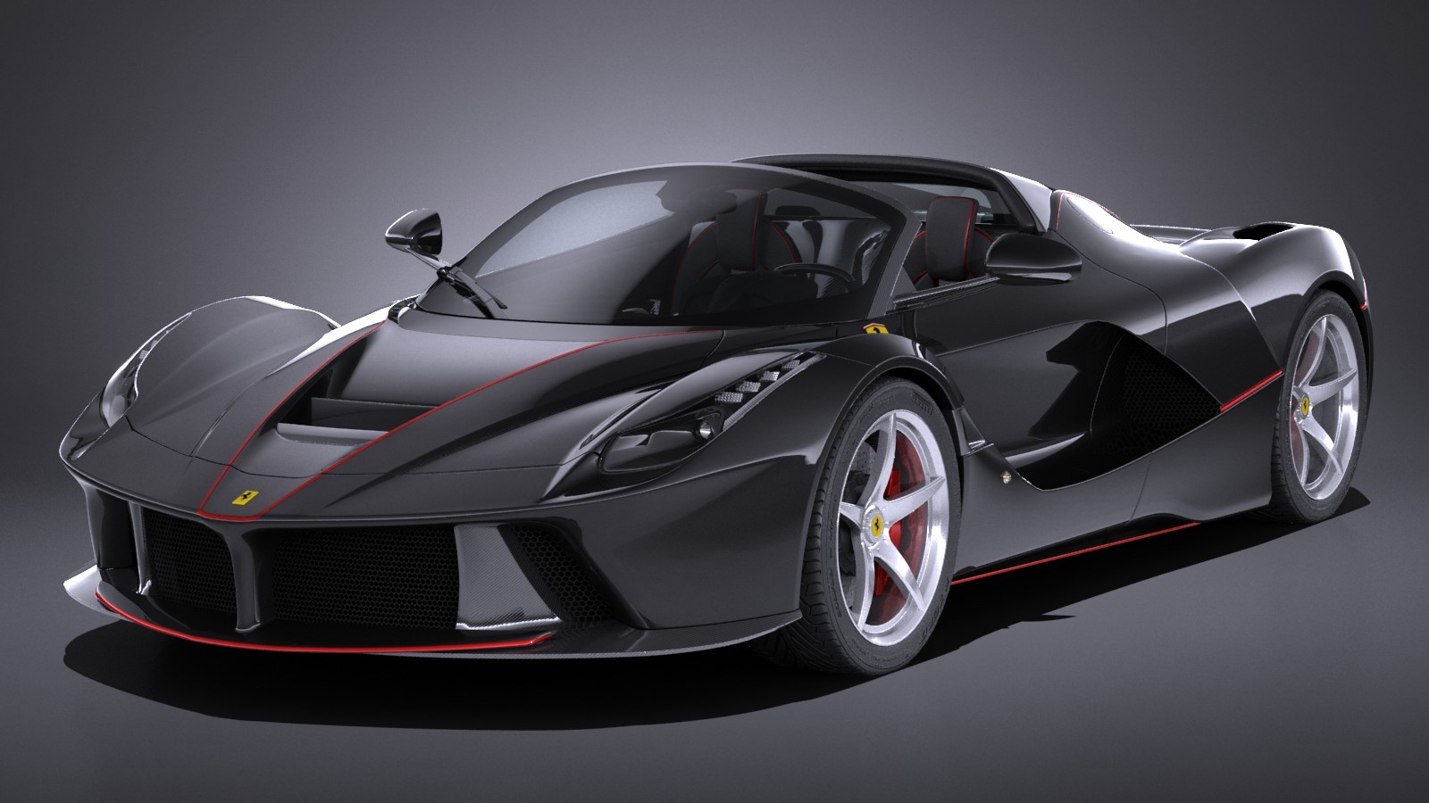 The Ferrari LaFerrari Stood Out When It Was First Introduced At The 2013  Geneva Auto Show, Despite The Fact That It Had To Share The Floor With A  New ...