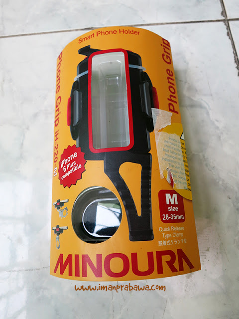Review Phone Holder Minoura iH-220-M