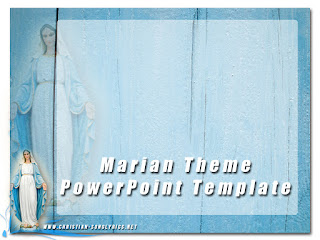 Free Marian Theme - PowerPoint Template