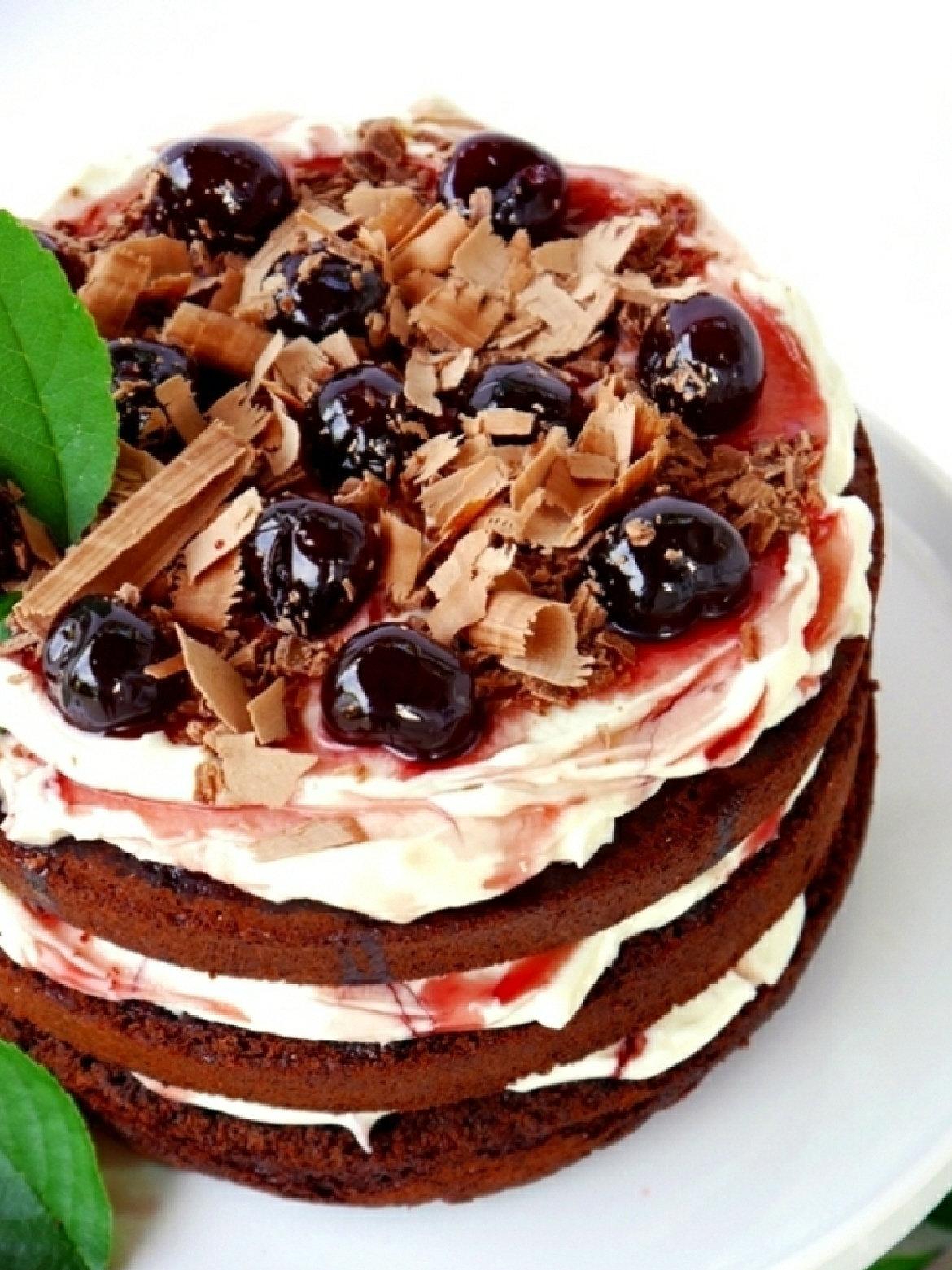 Recette Facile Gâteau Forêt-Noire