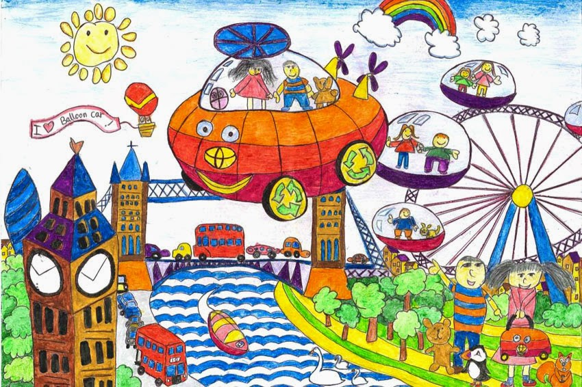 Toyota encourages kids to be creative in 2015 Dream Car ...