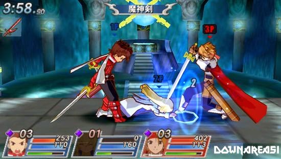 Tales of VS PSP Game