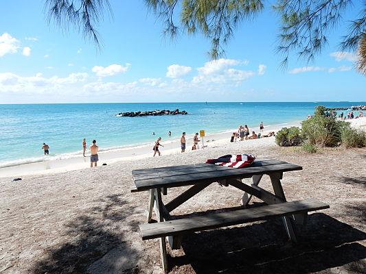 fort zachary beach key west