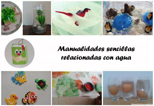 Manualidades Con Mis Hijas 6 Manualidades Con Agua O Relacionadas