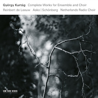 György Kurtág complete music for ensemble and choir - ECM
