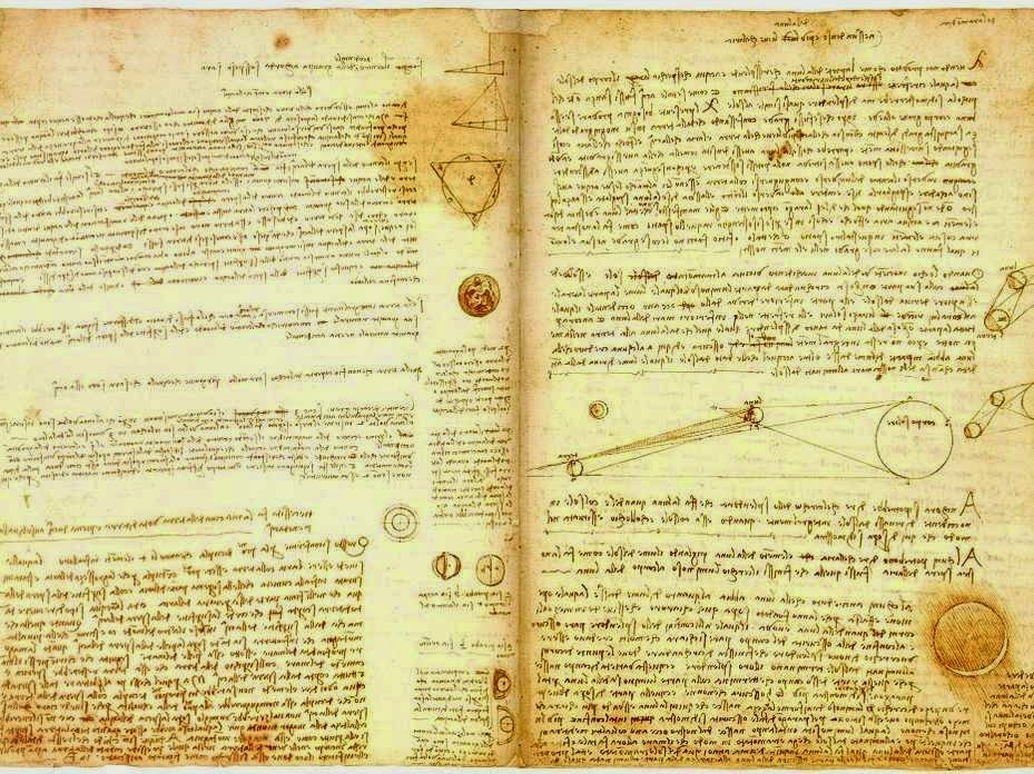 The Codex Leicester.