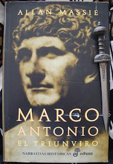 Portada del libro Marco Antonio, el triunviro, de Allan Massie