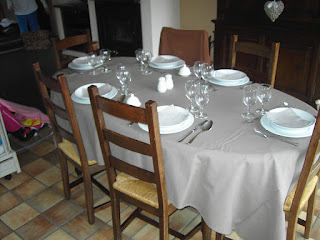 renovatie tafel en stoelen