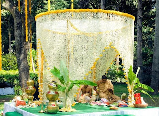 south indian wedding mandap designs