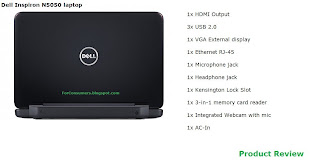 Dell Inspiron N5050 laptop review