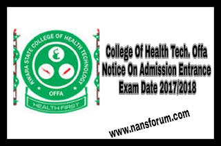 Image for College Of Health Tech. Offa