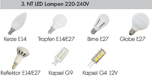 led nt lampen mit e27 e14 sockel nt led retrofitlampen und leuchtmittel. Black Bedroom Furniture Sets. Home Design Ideas