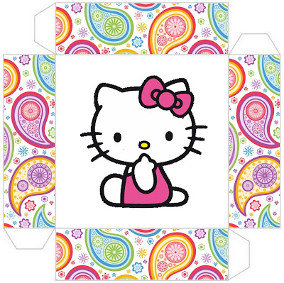 hello kitty: free printable boxes. - oh my fiesta in english