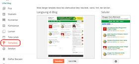 Mengenal Menu Pada Blogger