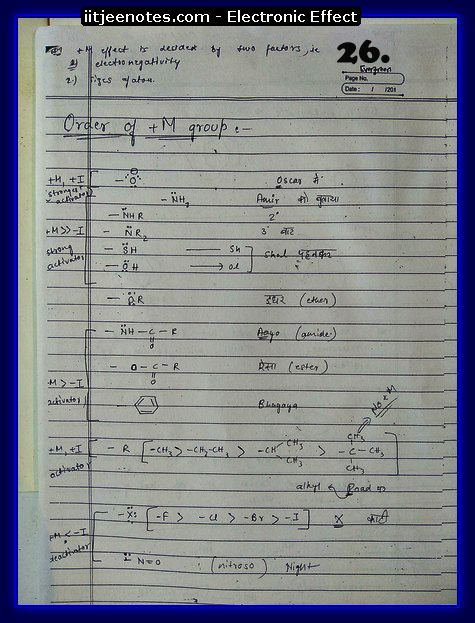 Electronic Effect Notes11