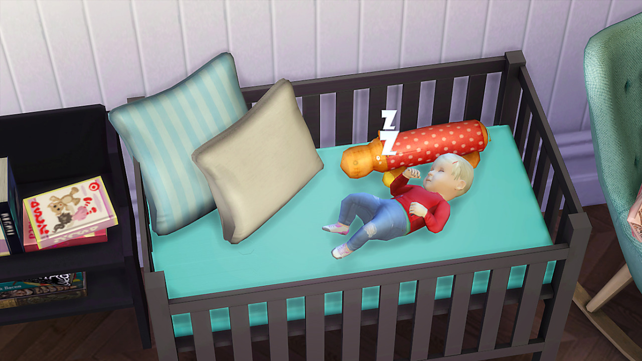 My Sims 4 Blog Simple Crib By Dri4na