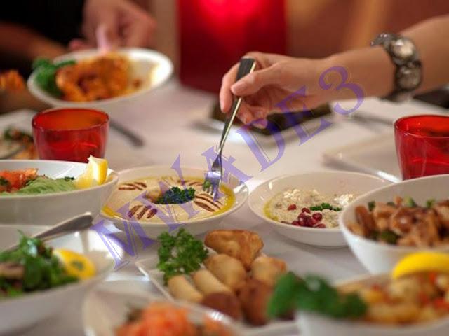 7 نصائح للحصول على السعرات الحرارية من طعام المطعم