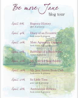 Be More Jane Blog Tour Schedule
