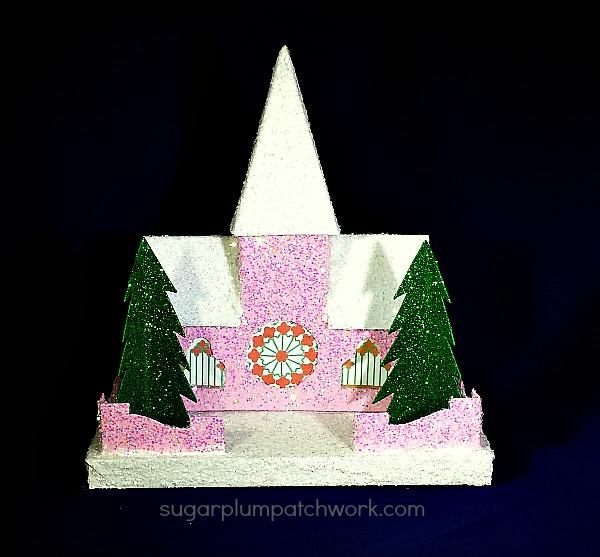 pink glitter house church