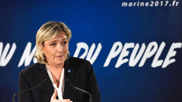 Marine Le Pen, French far-right leader says Frexit need to recover sovereignty