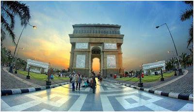 Kota di indonesia seperti luar negeri?Ada loh,seperti tempat wisata bandung seperti eropa,bangunan megah nya juga ada yg seperti di paris,afrika,thailand dll