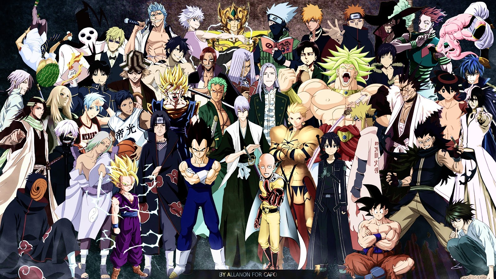 Unduh 660+ Wallpaper Anime Crossover Hd HD Gratid