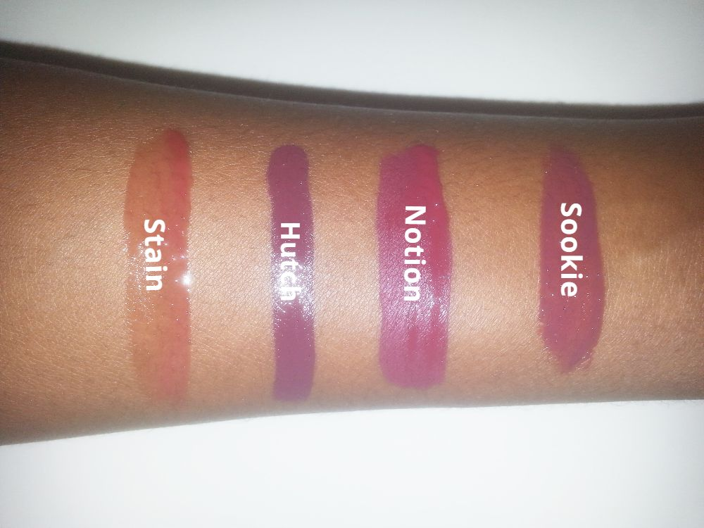 Colourpop: Sookie, Hutch, Stain, Notion
