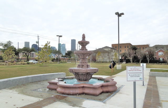 Water Fountain at City Park