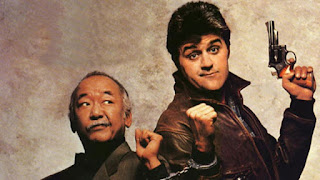 Jay Leno Pat Morita Collision Course 1989 cop buddy movie