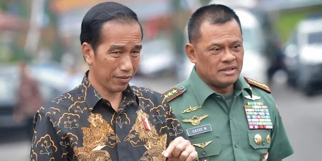 Gatot Jalan Jokowi untuk Dua Periode
