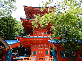 須磨寺三重塔