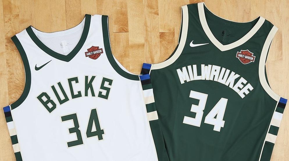 451b79a18 Milwaukee Bucks anuncia patrocínio em sua camisa - Show de Camisas