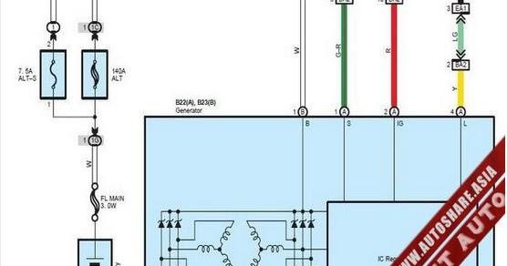Lexus Es350 2010 Wiring Diagram