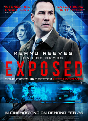 Baixar Exposed New Poster Filha de Deus HDRip XviD Dual Audio & RMVB Dublado Download