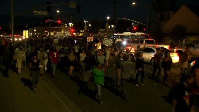 Nueva ola de protestas contra brutalidad policial en California