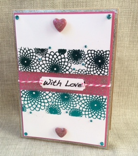 Wow embossing powder - With Love From Wow