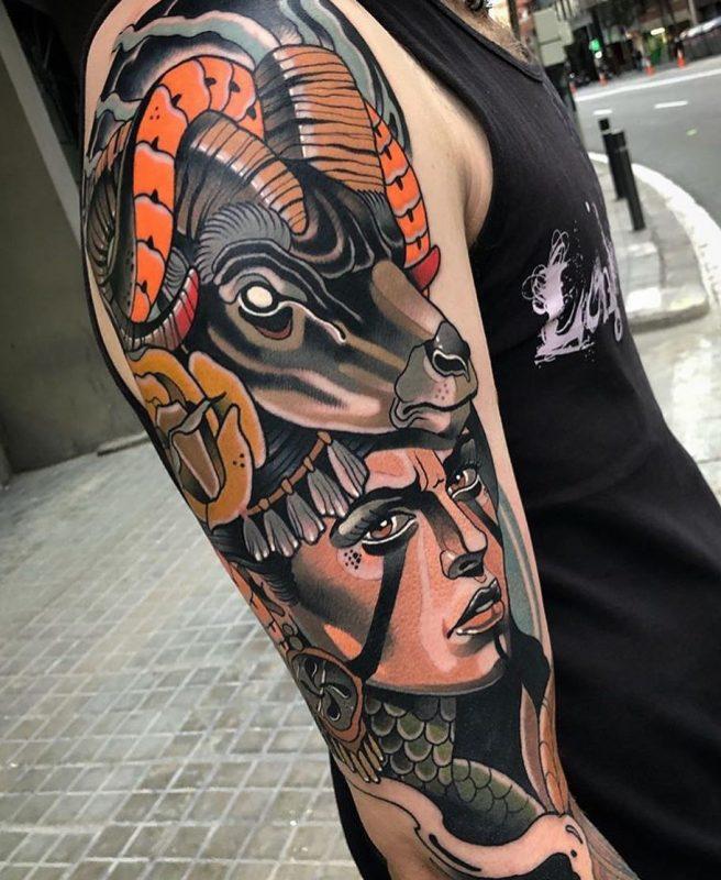 tatuajes en el hombro