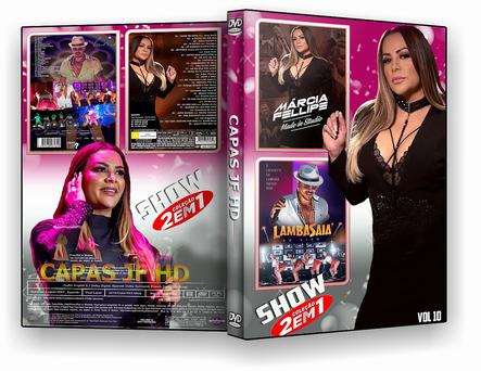 CAPA DVD – COLEÇÃO SHOW 2X1 VOL 10 – ISO