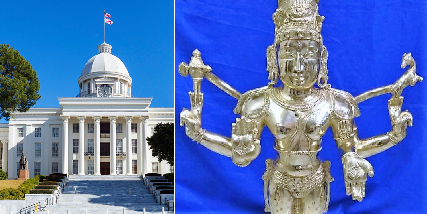 Hindu Temple opening in Alabama