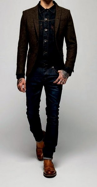 Latest Styles Of Sports Coat With Jeans New Combination