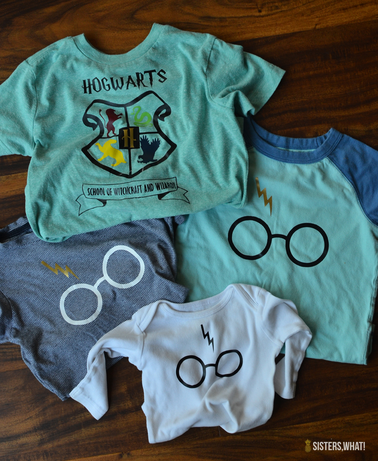 Diy Harry Potter Shirts Using Heat Transfer Vinyl Hogwarts School