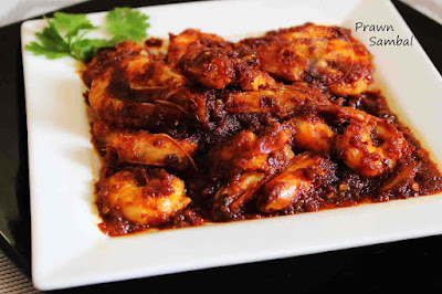 prawn recipe sambal udang prawn sambal shrimp roast fiery hot
