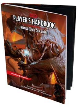 IN PREORDINE - Manuale del Giocatore di Dungeons Dragons in ITALIANO