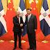 Presidente Chino recibe al dominicano Danilo Medina,anuncian reuniones de trabajo y firmas de acuerdos