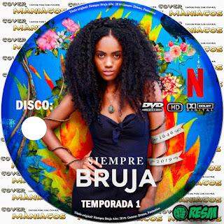 GALLETA SIEMPRE BRUJA - TEMPORADA 1 - 2019 [COVER DVD]
